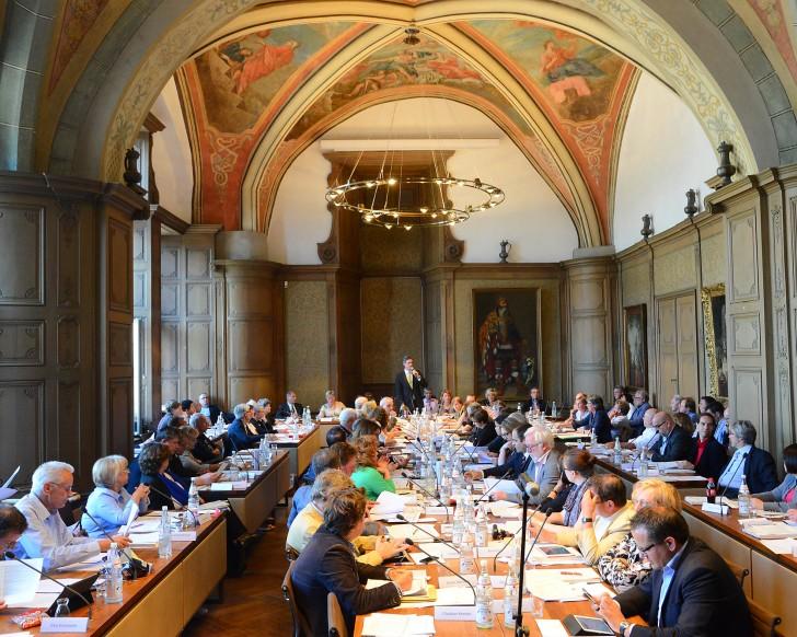 Ratssaal - Der Sitzungssaal des Rathauses