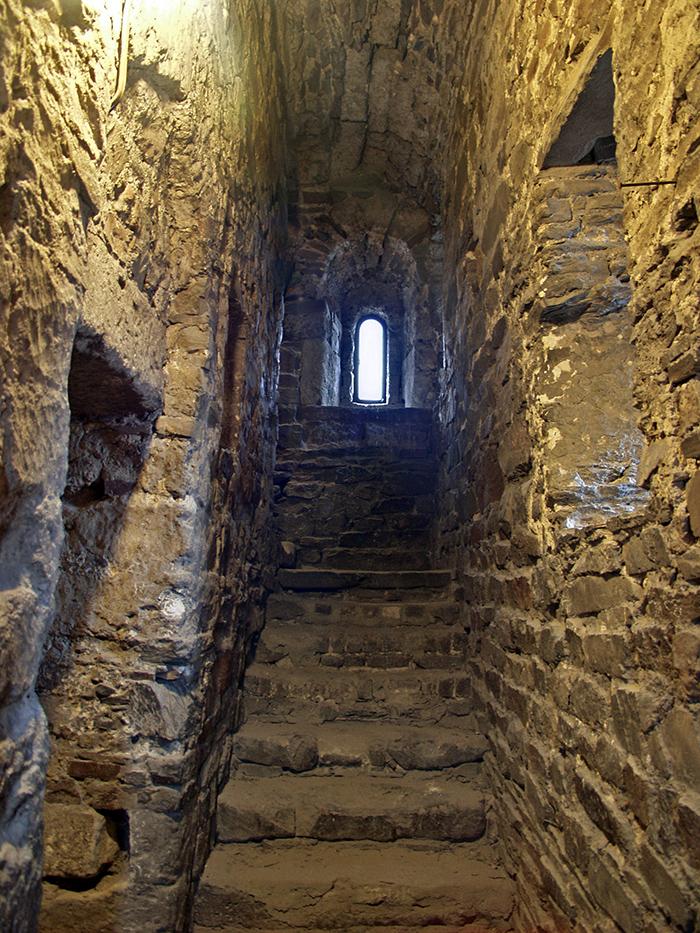 Treppenaufgang im zweiten Geschoss