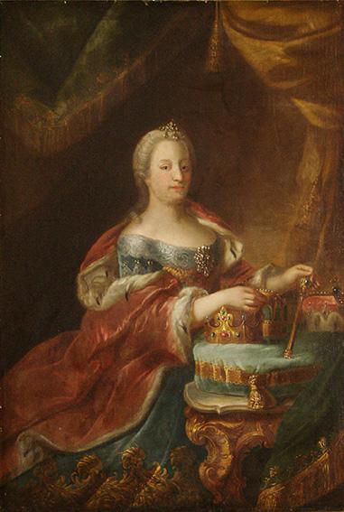 Kaiserin Maria Theresia von Österreich, 1746, wahrscheinlich von Heinrich Fischer