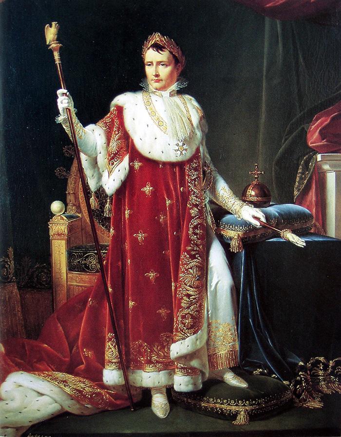 Kaiser Napoleon I., gemalt von Jean Louis Gabriel Bouchet (1807)