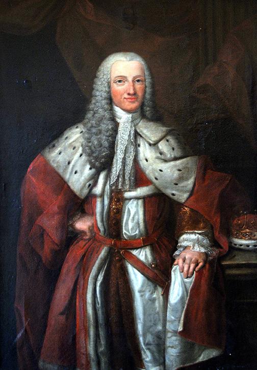 Joseph Montagu III. Earl of Sandwich (1718-1792, Gesandter Englands, gemalt von Jean Fournier (1750) Andreas Herrmann